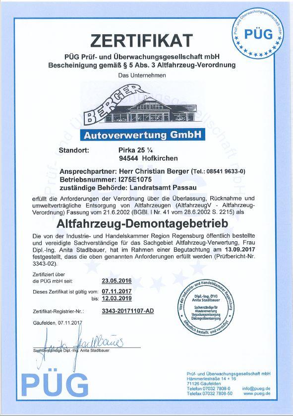 zertifikat-autoverwertung